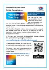 Public Consultation - Your Borough, Your Say.