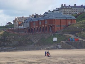 Whitby Pavilion as seen from the West Beach